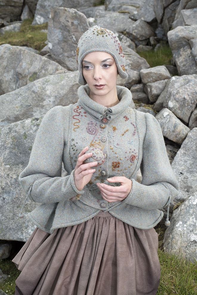 The Mountain Hare costume by Alice Starmore