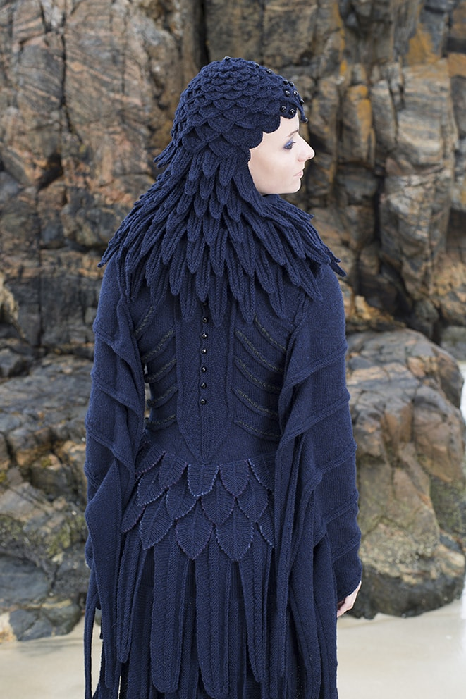 The Raven costume by Alice Starmore